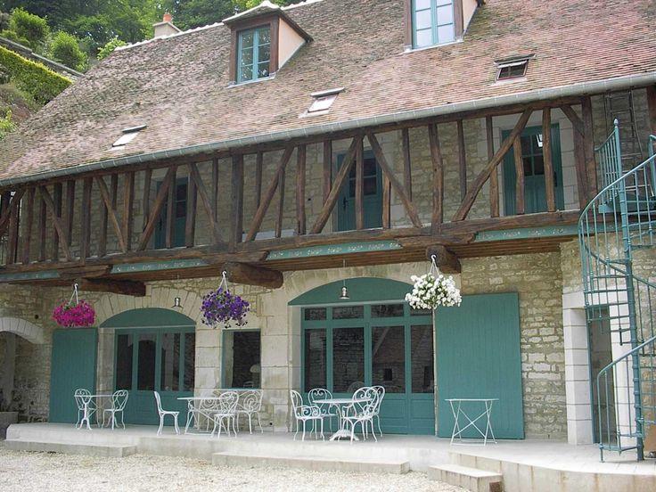 BOURGOGNE - Côte d'Or, Yonne, Nièvre, Saône et Loire, la #Bourgogne en gite rural et chambres d'hôtes - #Burgundy