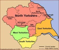 yorkshire map - Google Search