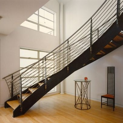 Curved Stairs Design Ideas, Pictures, Remodel, And Decor   Page 3