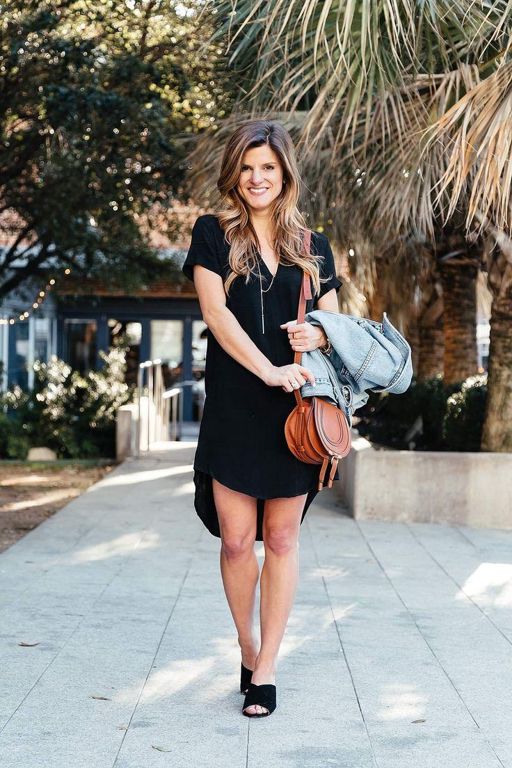 Black Shirt Dress Outfit Black Shirt Dress Outfit Shirt Dress Outfit Black Shirt Dress [ 1104 x 736 Pixel ]