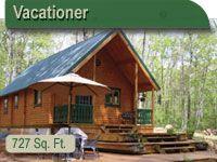 Camping Cabin Kit | Resort Log Cabins | Log Cabins Resorts