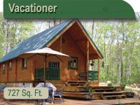 Conestoga Log Cabins can create an array of log cabin plans to fit within your budget. Our low maintenance, small log cabin kits are ideal as hunting cabins, vacation log cabins, rental cabins and DIY cabins (over 50% of our customers that buy log cabin kits build these small cabin kits themselves).