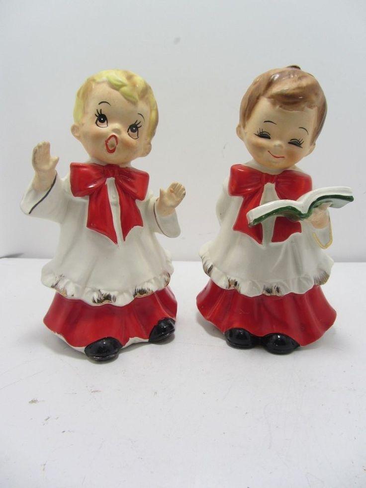 394 best Christmas Carolers images on Pinterest Caroler, Vintage - christmas carolers decorations