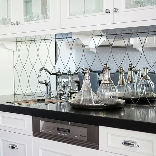 White Kitchen Mirror Splashback 234 best   kitchen splashbacks   images on pinterest   kitchen