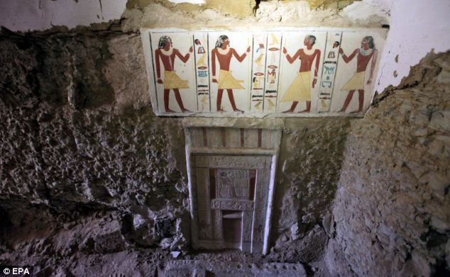 Egyptian: Africa Egypt, Fal Doors, Colorful Paintings, Egyptian Style, Rocks Hewn Paintings, Doors Gates, Colors Paintings, Ancient Egyptian, Doors I D