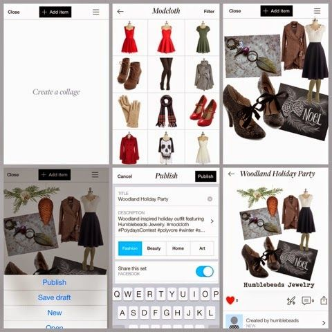 Humblebeads Blog: Polyvore App Tutorial For Jewelry Designers