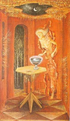 Remedios Varo,  To Be Reborn Fine Art Reproduction Oil Painting