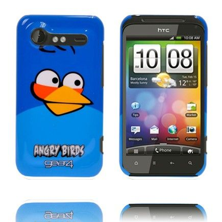 Angry Bird HTC Incredible S Deksel (Blå)