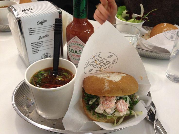 Love Food Café in Stockholm