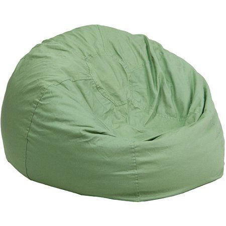 Personalized Oversized Bean Bag Chair, Multiple Colors, Green