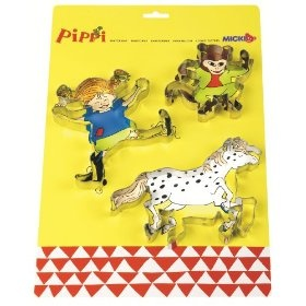 Pippi Longstocking cookie cutters