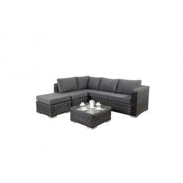 Port Royal Platinum Small Corner Sofa from £749.00 with FREE delivery!