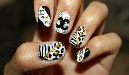 Fun Nail Design: Chanel Nails, Nailart, Style, Nail Designs, Naildesign, Beauty, Nail Ideas, Nail Art