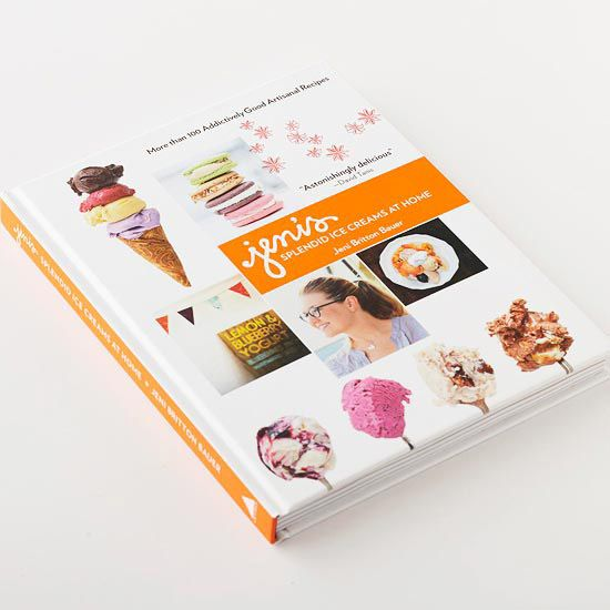 Jeni's Ice Cream Book - making ice cream can be a learning experience