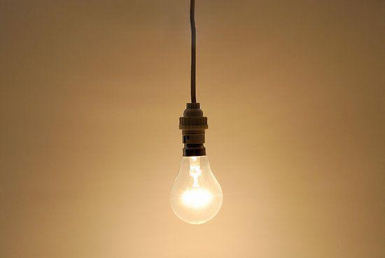 bare hanging light bulb - Google Search