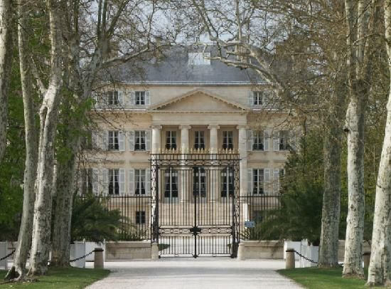 Château Margaux / Margaux / Bordeaux / France. Made it to the gates and it was closed   Still a great day trip