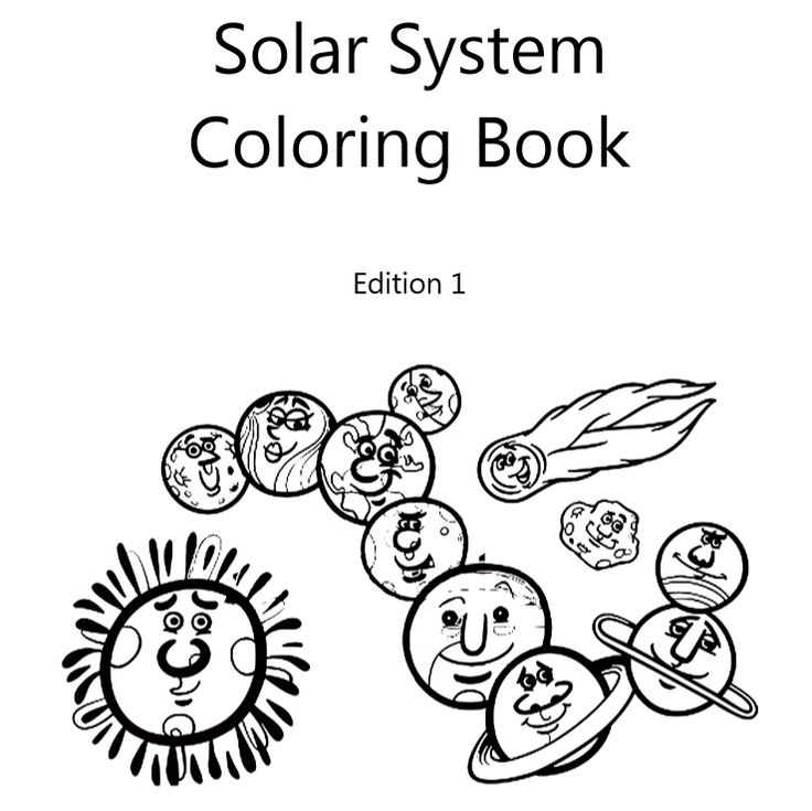Solar System Coloring Book (Paperback – Edition 1) By Lazaros' Blank Books Travel to the planets of our solar system with 7 different spaceships and enjoy a wonderful coloring experienc…