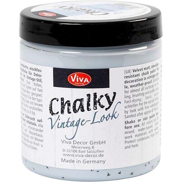 Chalky Vintage Look -maali, 250 ml, pearl blue (602)