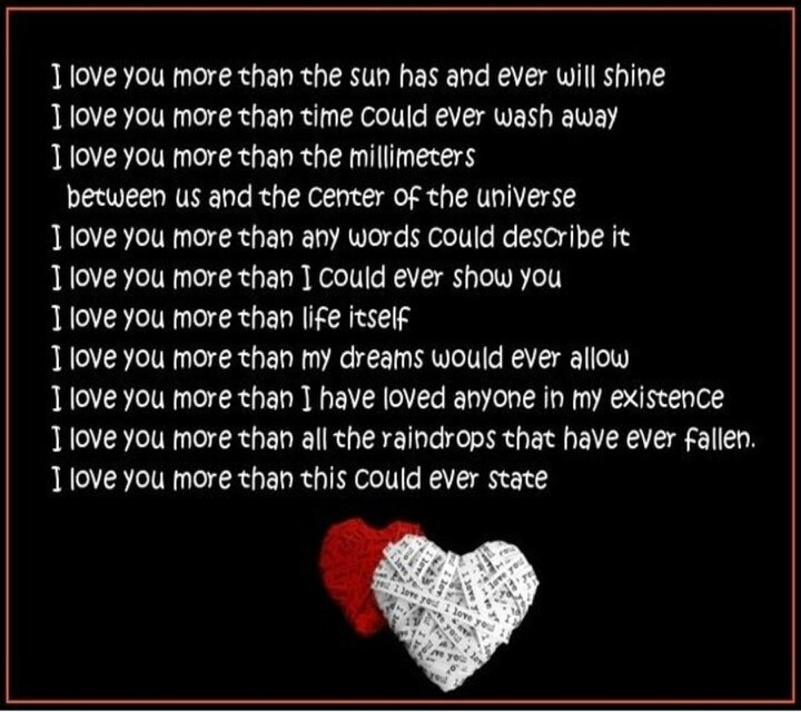 I Love You More Than Quotes: I Love You More Than Anything I Truly Do That's A Lot Of