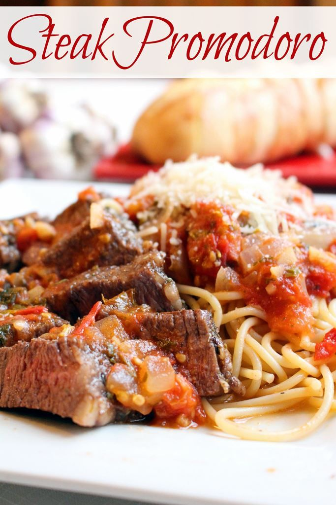 Pan seared tri tip steak alongside a rustic tomato sauce and pasta. Sure to please a hungry crowd.