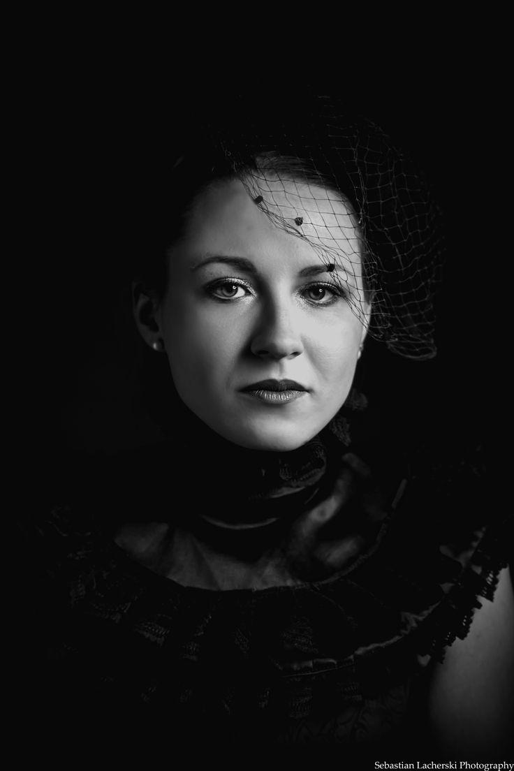 Lady in Black - Lady in Black portrait