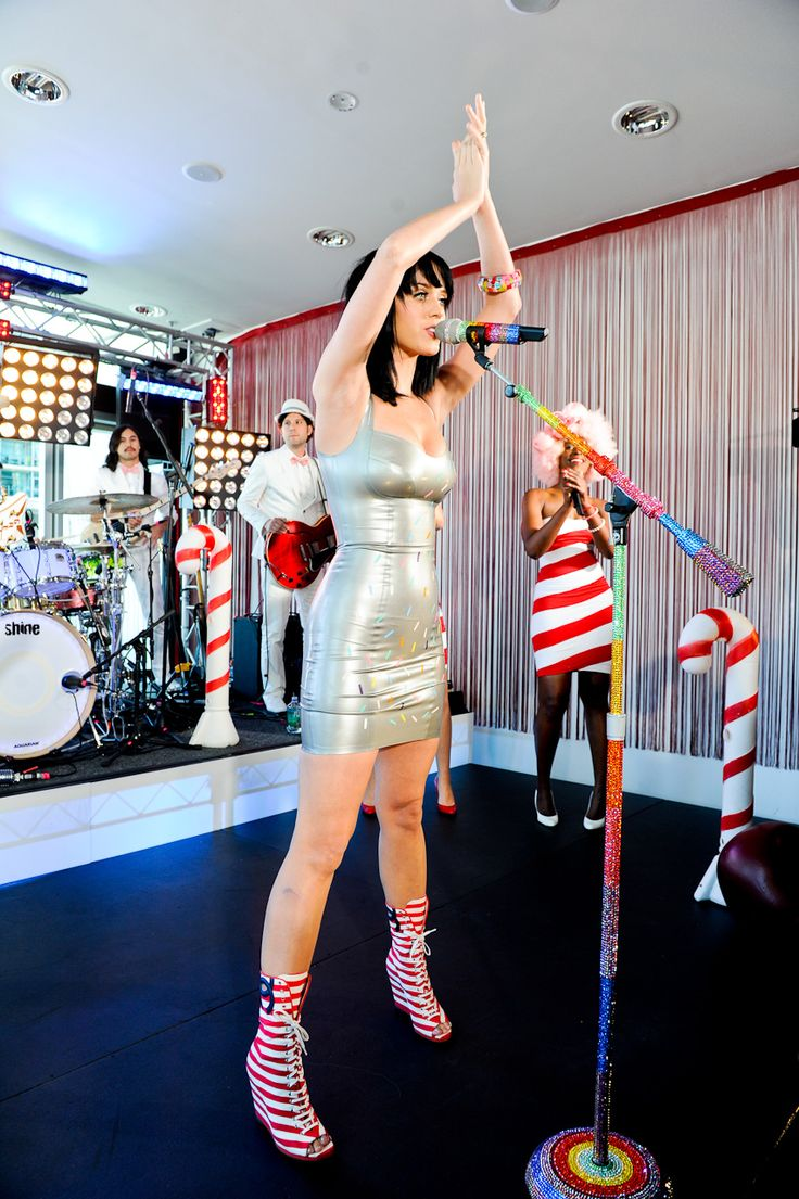Katy Perry at another World Famous Rooftop concert I produced.