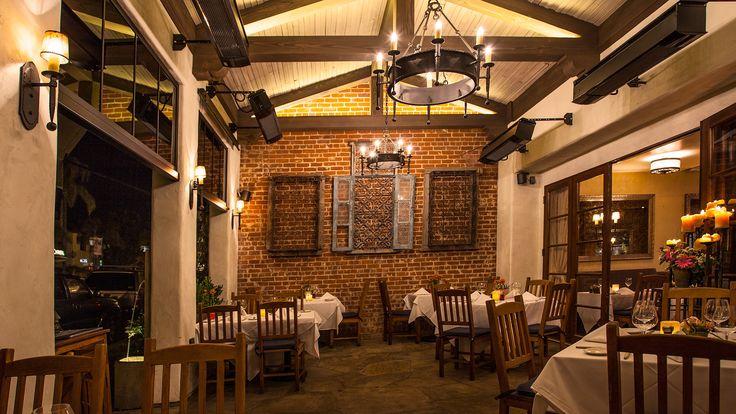 Bouchon Restaurant, Santa Barbara California - Award winning Wine Country Cuisine