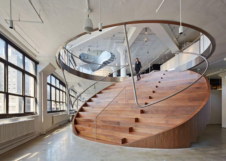 91 besten architektur stiegen bilder auf pinterest for Innenarchitektur studium new york