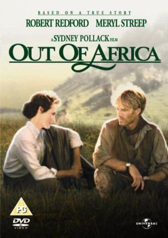 """""""Perhaps he knew, as I did not, that the world was made round so we could not see too far down the road."""" Beauty, and one of my faves. Out of Africa (1985)"""