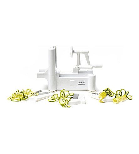 The HEMSLEY + HEMSLEY Spiralizer! Just what I need!