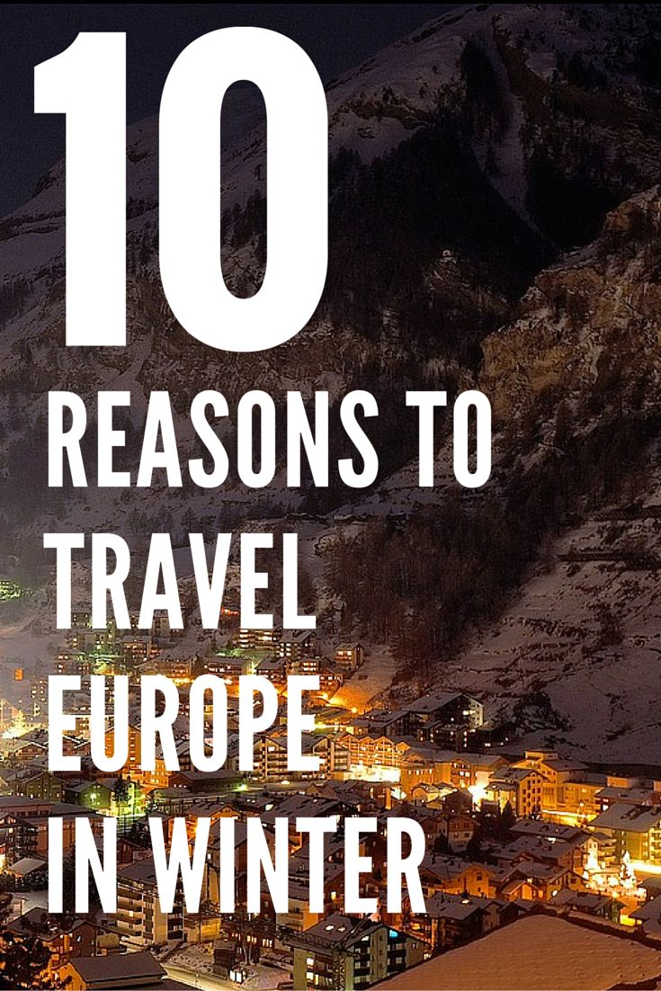 While Europe is hugely popular travel destination in the summer, there are 10 good reasons why you should visit Europe in winter. Besides the cheap rates, Europe offers amazing Christmas market and winter festivals that are filled with magic and delight. Discover the other 9 reasons why you should travel to Europe in winter.