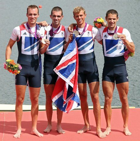Chris Bartley, Richard Chambers, Rob Williams and Peter Chambers- Lightweight Coxless Four SILVER MEDAL