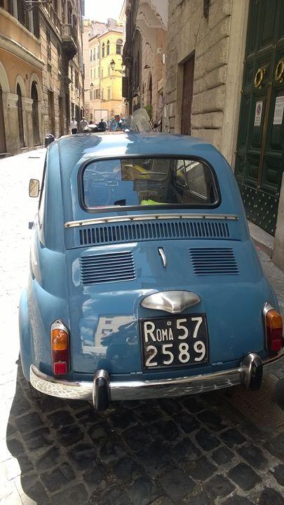 Roma, Fiat. Tiina Mäenpää -Bussetta