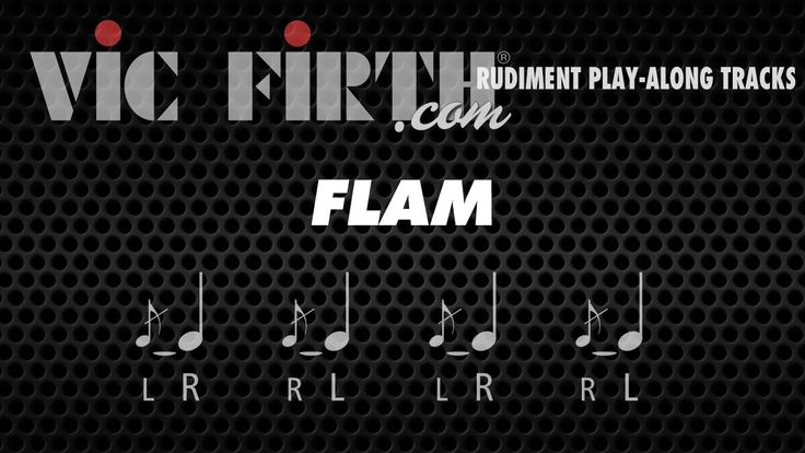 The Flam: Vic Firth Rudiment Playalong