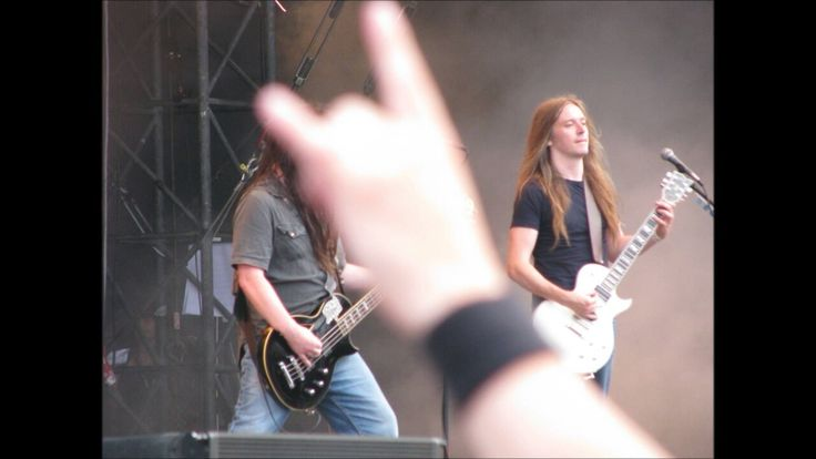 Bill Steer in 2008. Carcass reunion show