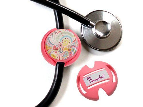 Boojee Beads Bouquet Floral Stethoscope Id Tag Cover by Boojee Beads. $5.95. Vera Bradley, Lilly Pulitzer, and the rest of the Palm Beach set have nothing on you, dear. With the paisley perfection ID tag you'll take accessorizing to a whole new level. Tag tidbits: Two-piece recycled plastic tag with stay-put design that makes it impossible to lose. Art housed safely under easy-to-clean dome; bottom portion can be written on for easy identification should your s...