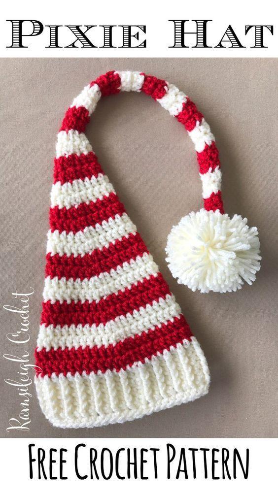 10 Crochet Christmas Hat Patterns