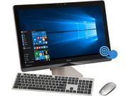 """Image of ASUS All-in-One Computer Z240-C2 Intel Core i7 6700T (2.80 GHz) 16 GB DDR4 1 TB HDD 512 GB SSD NVIDIA GeForce GTX 960M 2 GB 23.8"""" IPS 3840 x 2160 Touchscreen Wi"""