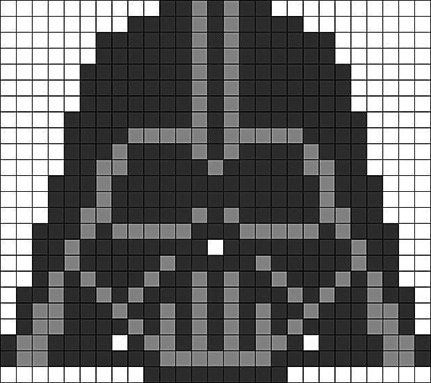Darth Vader Aus Bugelperlen Perler Beads