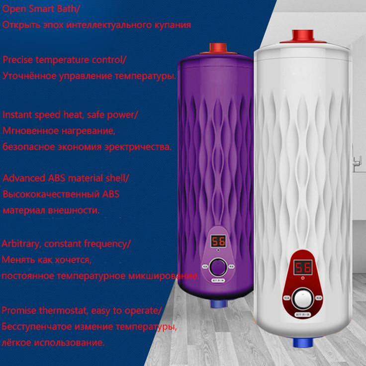 Nieuwste 5500 W 220 V Doorstromers Thermostaat Digitale Flow Heater Boiler Keuken & Bad Elektrische Instant Hot Water