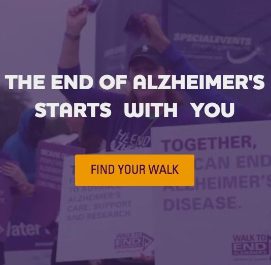 Walk to End Alzheimer's: Held annually in more than 600 communities nationwide, Walk to End Alzheimer's is the world's largest event to raise awareness and funds for Alzheimer's care, support and research. | Alzheimer's Association