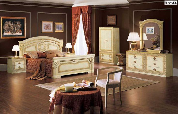Aida Italian Bed | Classic Bedroom