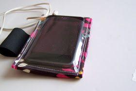Maiden Jane: DIY Ipod Armband Case with Window Tutorial