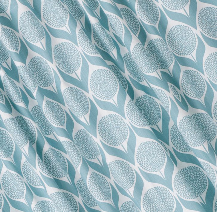 Light Blue Curtains Curtains Cotton Curtains Scandinavian