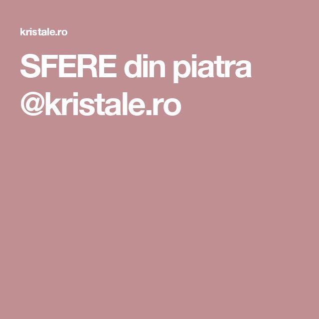 SFERE din piatra @kristale.ro