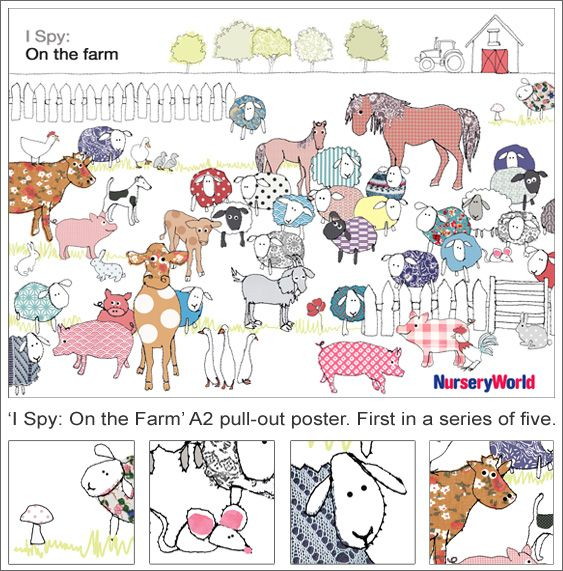 85 Best Images About Farm Animals On Pinterest Montessori Maze And Animales