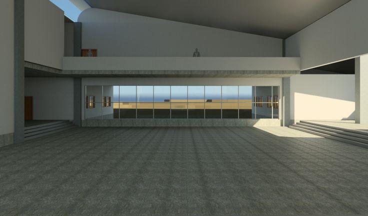College Interior Space