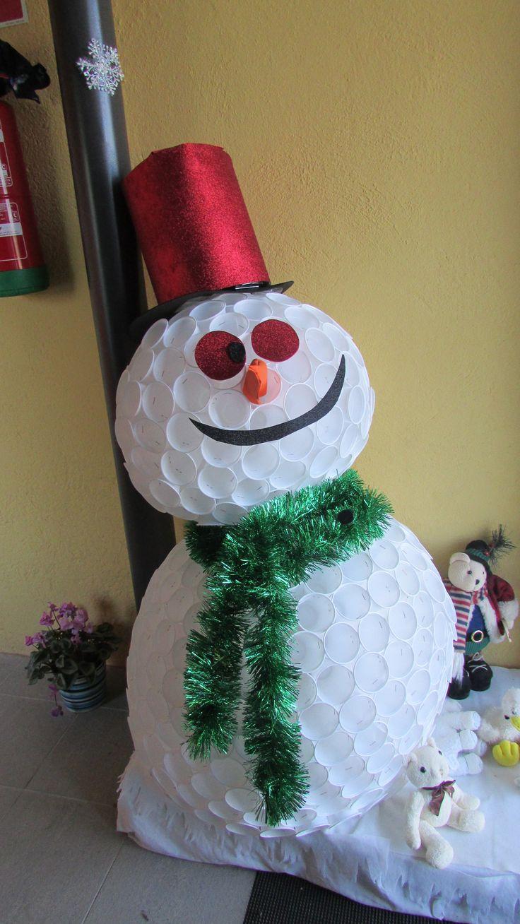 Decoració Nadal  Ninot de neu