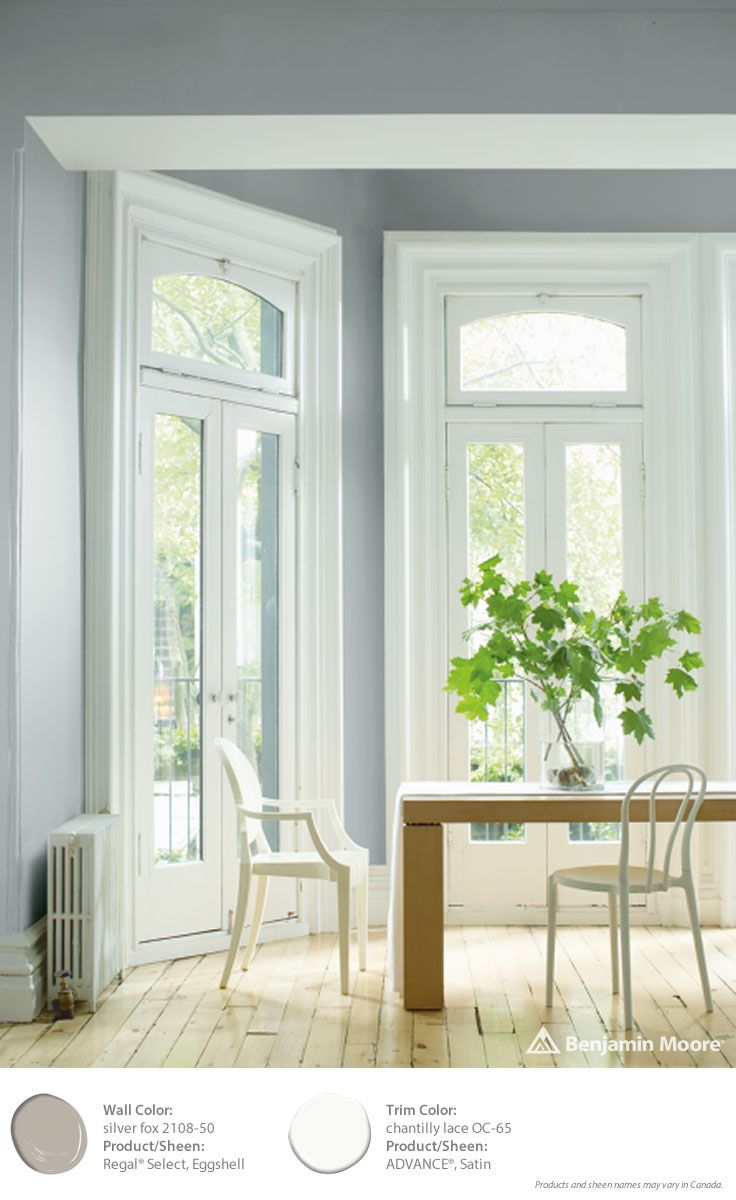 37 best images about benjamin moore color trends 2015 on pinterest silver foxes satin and Best satin paint
