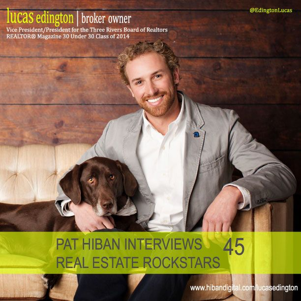 Join us as Lucas shares his realtor mindset and a glance at his journey to becoming a member of the REALTOR® Magazine 30 Under 30 Class of 2014, and a Real Estate Rockstar... #realestate #podcast #pathiban #hibandigital #hibangroup #HIBAN #realestatesales #realestateagent #realestateagents #selling #sales #sell #salespeople #salesperson #lucasedington